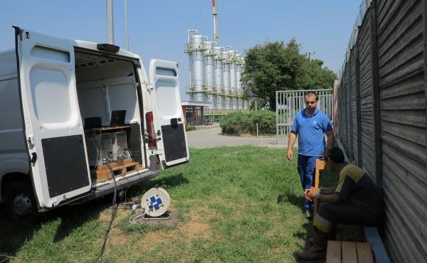 prove di efficienza batterie sistema 110Vdc SNAM rete gas