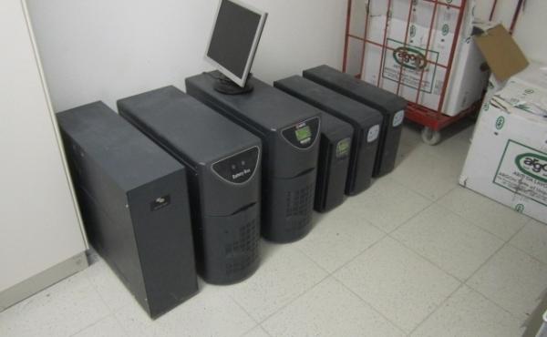 prove di efficienza accumulatori piccolo soccorritore e UPS